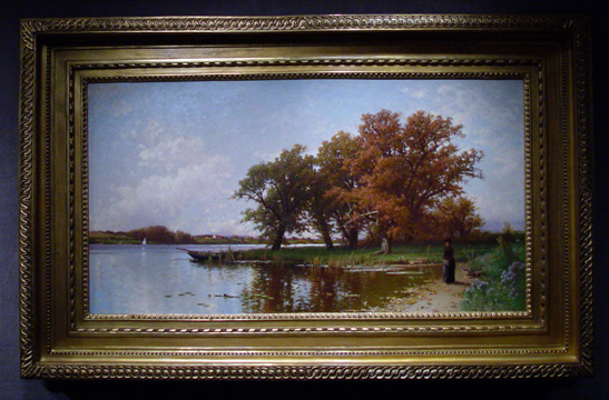 """Early Autumn on Long Island"" by Bricher"