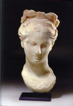 Greek marble bust of Aphrodite