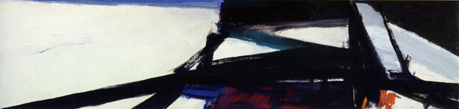 """Painting in Black and White and Color (Washington Wall)"" by Kline"