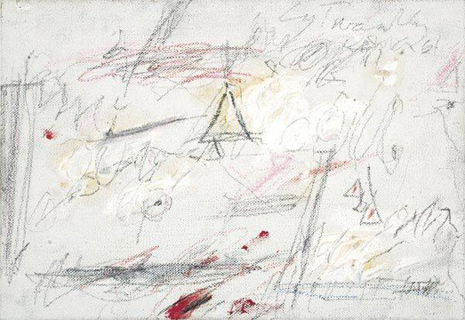"""Untitled (Roma)"" by Twombly"