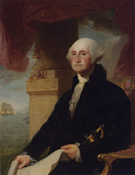 """George Washington (The Constable-Hamilton Portrait)"" by Stuart"