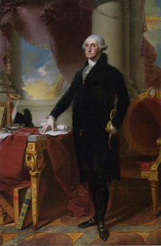 """George Washington (The Munro-Lenox Portrait)"" by Stuart"