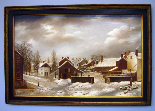 """Winter Scene in Brooklyn"" by Guy"