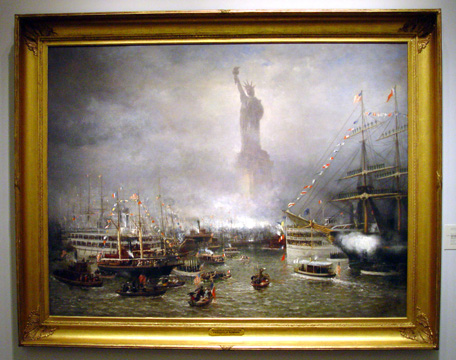 """Statue of Liberty Celebration"" by Rondel"