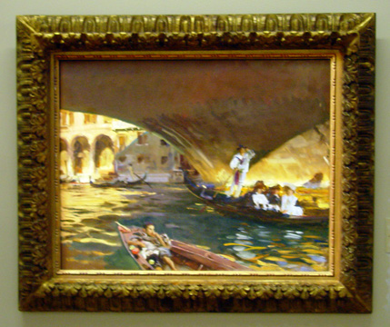 """The Rialto"" by Sargent"