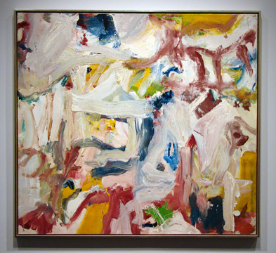 """Untitled XXIX"" by de Kooning"