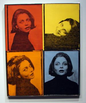 """Judith Green"" by Warhol"