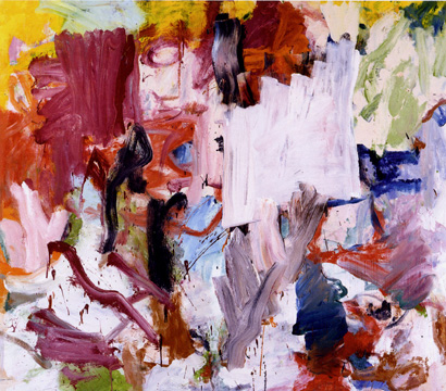 """Untitled XXV"" by de Kooning"