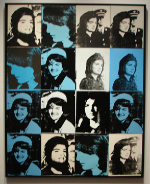 """Sixteen Jackies"" by Warhol"