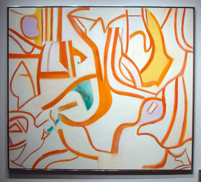 """Untitled XVII"" by de Kooning"