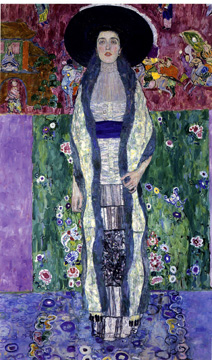 """Portrait of Adele Bloch-Baer II"" by Klimt"