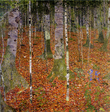 """Birch Forest"" by Klimt"