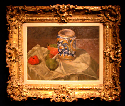 Still life by Cézanne