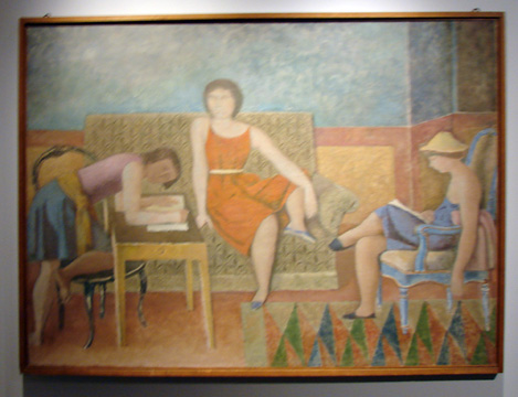 Three sisters by Balthus
