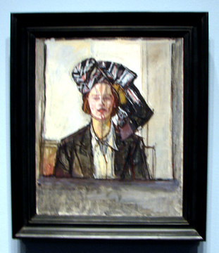 """Portrait de Madame D"" by Giacometti"