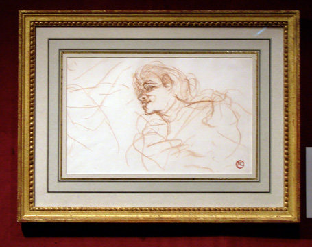 """Mademoiselle Lender"" by Toulouse-Lautrec"