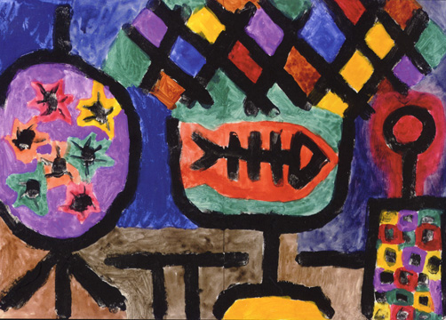 """Museales Stilleben"" by Klee"