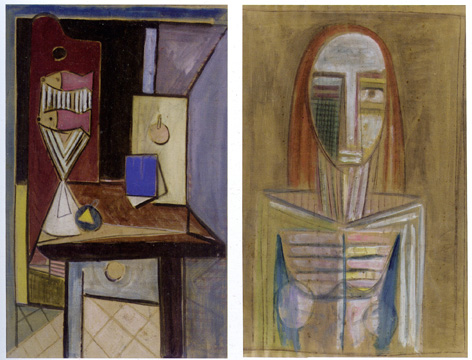 Double-sided work by Wilfredo Lam
