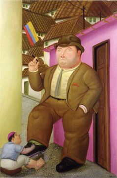 """Shoeshine"" by Botero"