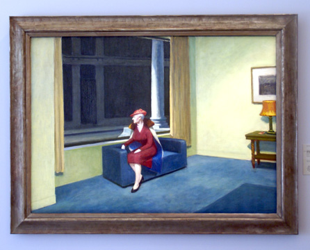 """Hotel Window"" by Hopper"