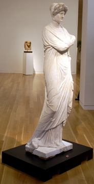 Roman Imperial marble woman