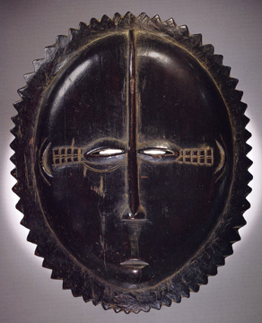 "Baule ""moon"" mask"