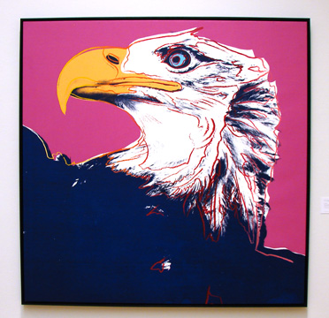 """Bald Eagle"" by Warhol"