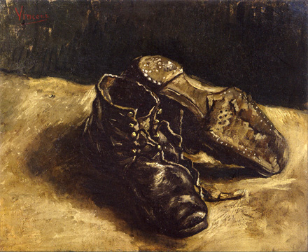 """A Pair of Shoes"" by Van Gogh"