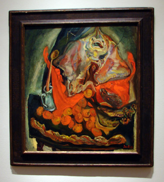 """Nature Morte � la Ray"" by Soutine"