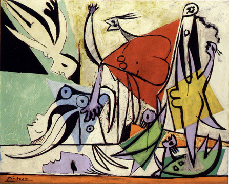 """Le Sauvetage"" by Picasso"