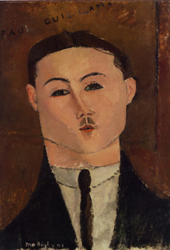 """Paul Guillaume"" by Modigliani"