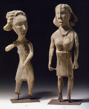 Madagascar, Sakalava, Vezo female figures