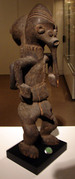 Eastern Mambila janiform figure