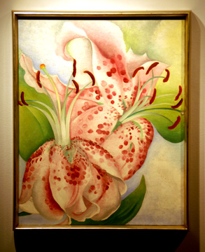"""Pink Spotted Lilies"" by O'Keeffe"