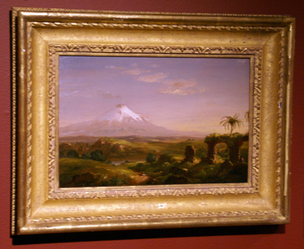 """View of Mount Etna"" by Cole"