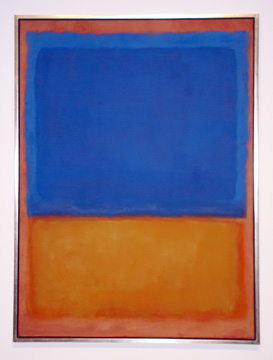"""Untitled (Red, Blue, Orange"" by Rothko"