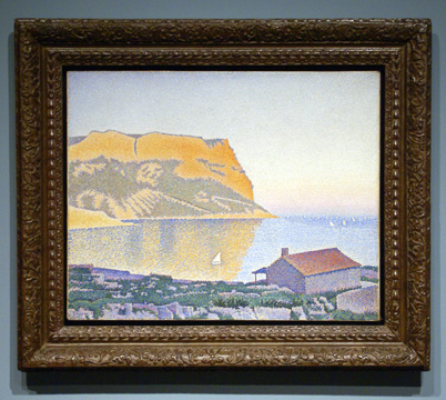 """Cassis: Cap Canaille"" by Signac"