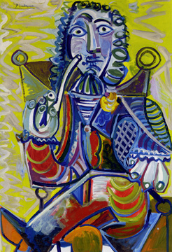 """Homme à la Pipe"" by Picasso"