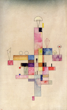 """Leichter Block"" by Kandinsky"