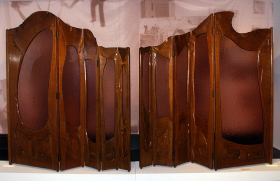 Folding screen by Gaudi