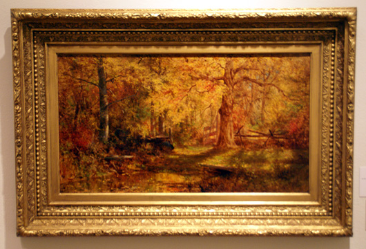 """An Autumn Woodland Scene"" by McEntee"