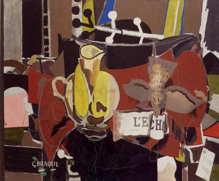 """L'Echo"" by Braque"