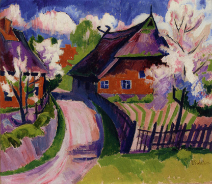 """Fruhling (Springtime)"" by Pechstein"