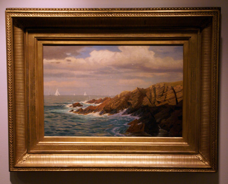 """Rocky Coast, New England"" by Haseltine"