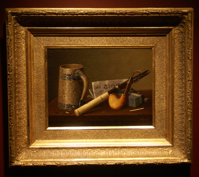 """Still Life with Pipe"" by Peto"