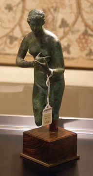 Greek bronze of Aphrodite