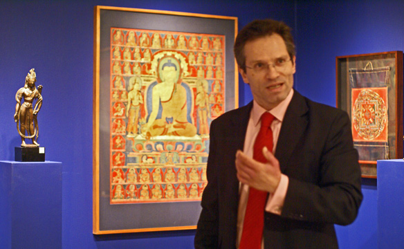 Dr. Hugo Weihe, Christie's International head of Asian Art