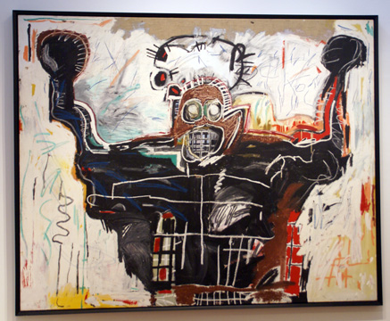 """Untitled (Boxer)"" by Basquiat"
