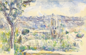 """La Cathedral d'Aix"" by Cézanne"