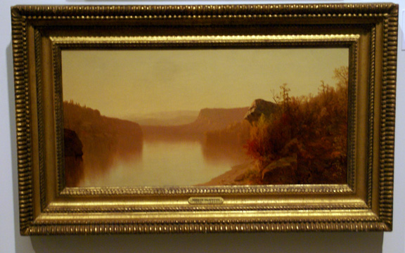 """An Autumn Lake Scene"" by McEntee"
